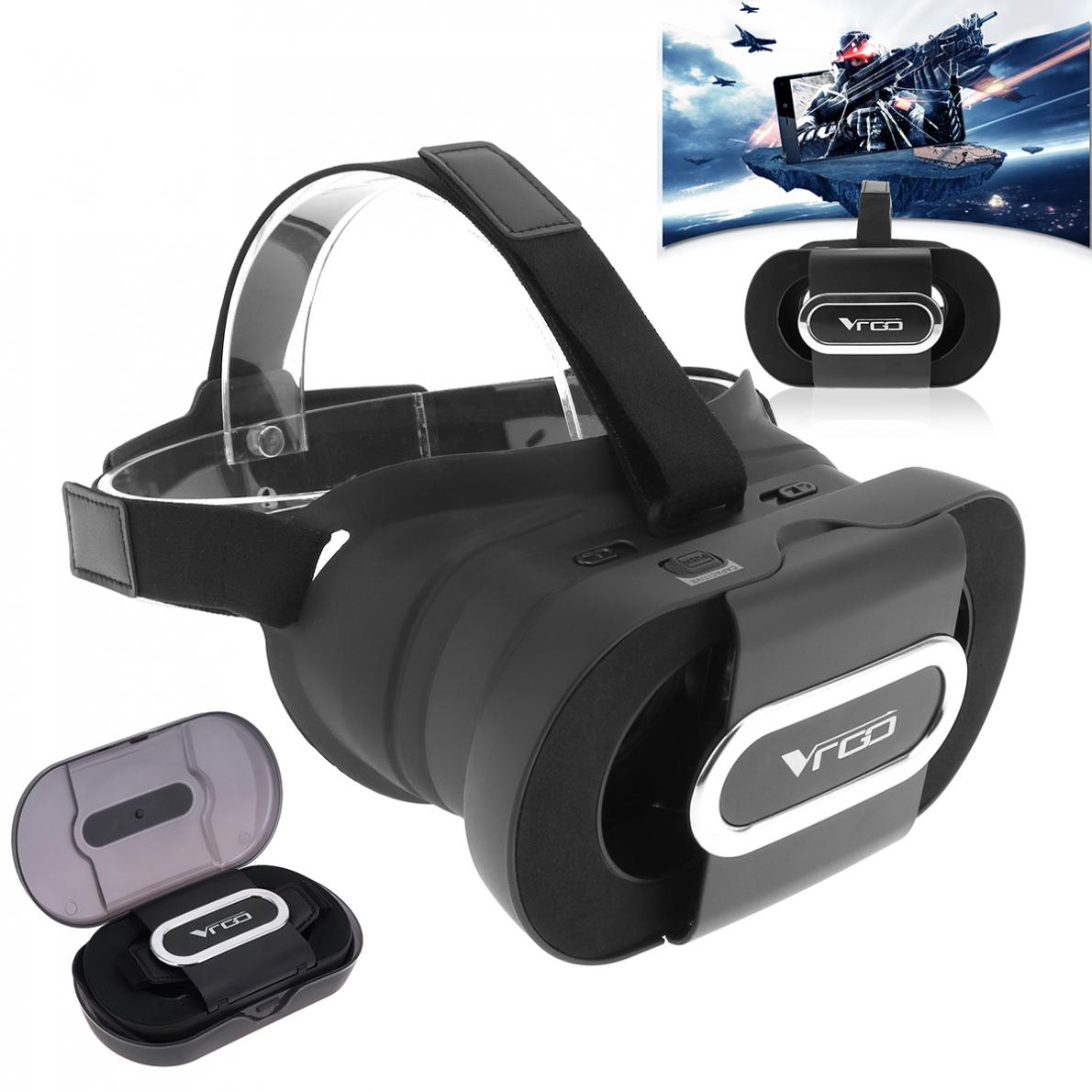 RITECH VR GO Mini Folding VR Glasses 3D Helmet Virtual Reality 3D Game For 4.7-6.0 Smartphon