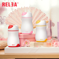RELEA Mini Thermos Cup Cute Cat Shaped Vacuum Cup Creative Stainless Steel Cup For Kids 260ml