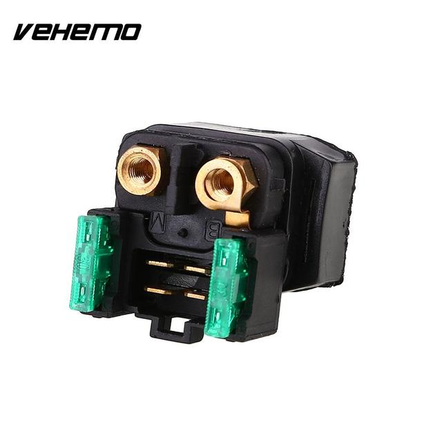 Vehemo Vehemo 1PC Starter Relay Contactor Solenoid Switch For Yamaha