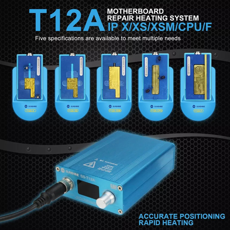 SS T12A Heating Station for IPhone 6 7 8 X XS MAX Motherboard CPU Desoldering Station