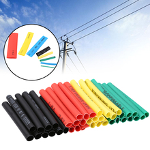 цена на 400PCS Polyolefin Heat Shrink Tube Set 8 Sizes 1-14mm 2:1 Heat Shrink Tubing Insulation Shrinkable Tube Wire Cable Sleeves