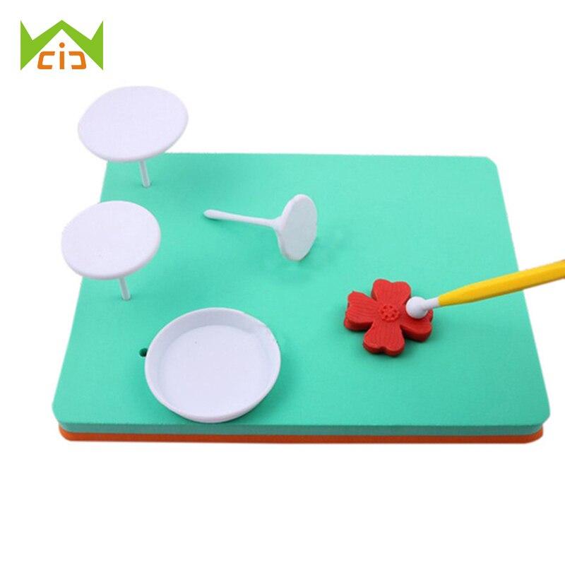 Astra shop Fondant and Gum Paste Modeling Foam Pad Shaping Foam Sugar Craft Tools Random Color