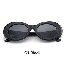 Classic Punk Rock Sunglasses NIRVANA Kurt Cobain glasses Men Women Round Oval Shades Retro Vintage Eyewear Sunnies UV400
