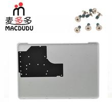 """חדש 604 1033 עבור Macbook Pro 13 """"Unibody A1342 לבן קייס תחתון תחתון כיסוי עם תחתון בורג"""