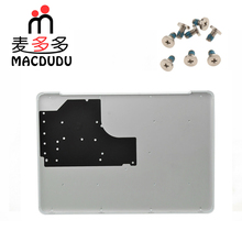 "New 604 1033 for Macbook Pro 13"" Unibody A1342 White Lower Bottom Case Cover With Bottom Screw"