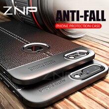 Lüks silikon yumuşak koruma iphone için kılıf 7 6 6 s 8 Artı X 5 tam kapak darbeye dayanıklı kabuk iphone X 7 6 6 s 8 Artı TPU k...