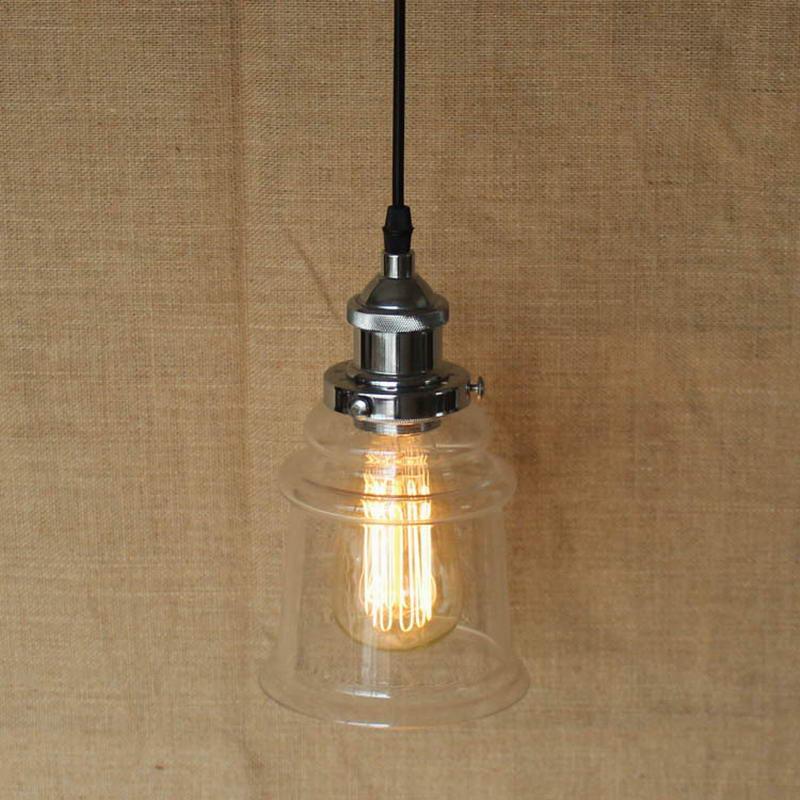 Lustre Industrial Edison Bulb Hanging Lamp Vintage Pendant