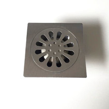 цена на Stainless Steel Floor Drain Square Bathroom Shower Waste Drainer 10cm