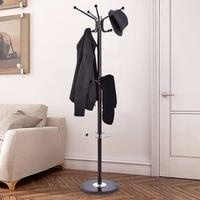 Giantex Metal Coat Rack Hat Tree Stand Clothes Holder Umbrella Bag Hanger Hall Modern Living Room Iron Clothes Hanger HW54001