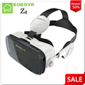 BOBOVR Z4 VR box 2.0 Virtual Reality goggles 3D Glasses Google cardboard with Headphone For 4.3-6.0 inch smartphones