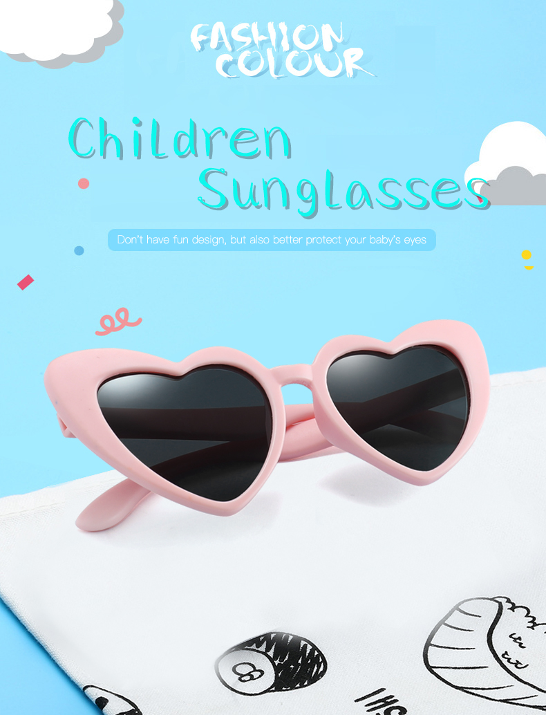 HTB1kmneac vK1Rjy0Foq6xIxVXaA - LongKeeper baby girl sunglasses for children heart TR90 black pink red heart sun glasses for kids polarized flexible uv400