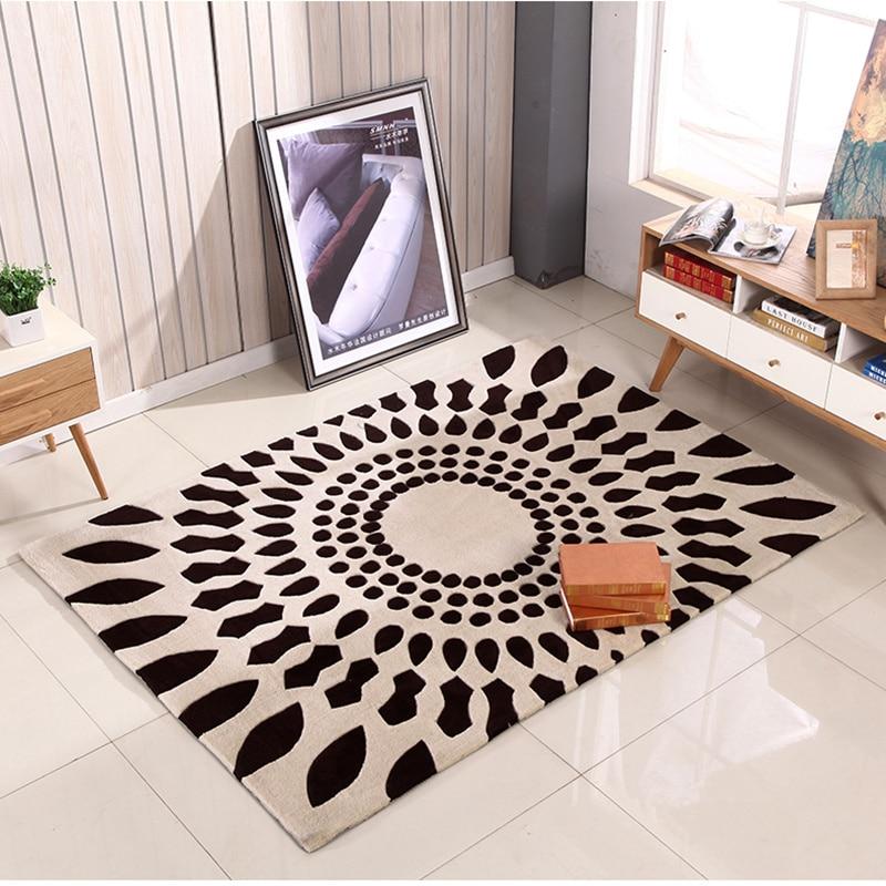 Style chinois salon tapis moderne minimaliste salon tapis chambre table basse couverture lit couverture