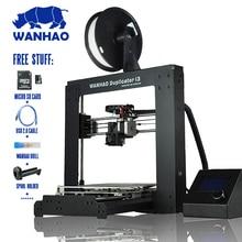 Печать размер: 200*200*180 мм 2016 Wanhao дубликатор V2.1 I3 3d-принтер. Металлический Каркас Reprap комплект с Высокой Точностью, обои для рабочего