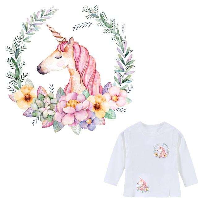Colife Единорог патч Малый Размеры гладить на Нашивки принт на футболку Платья для женщин Носки для девочек передачу тепла аппликация уровня моющиеся наклейки