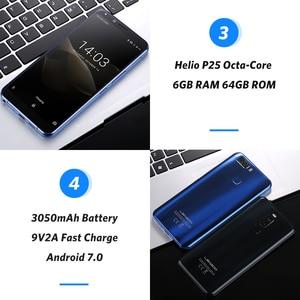 Image 5 - LEAGOO S8 Pro 6GB 64GB 5.99 18:9 Display Mobile Phone Android 7.0 MTK6757 Octa Core Dual Cameras Fingerprint ID 4G Smartphone