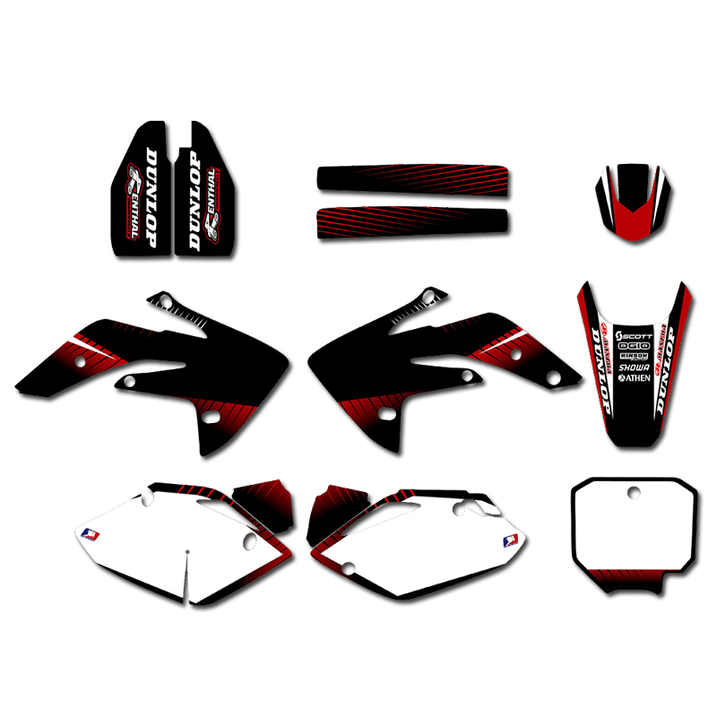 Graphics Decal <font><b>Sticker</b></font> Motorcycle <font><b>Kits</b></font> For <font><b>Honda</b></font> CRF150R LIQUID COOLED 2007-2012 2008 2009 2010 2011 CRF 150R CRF <font><b>150</b></font> R image