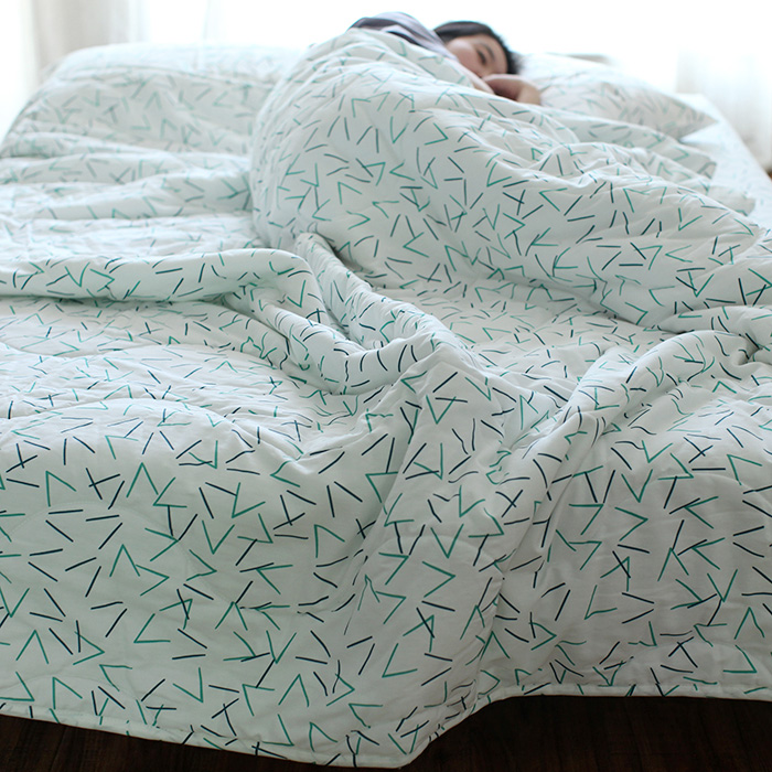 100%Cotton Geometric Line home bedding bed clothes