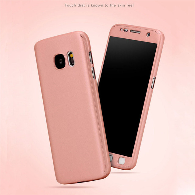 aliexpress com buy full body coverage protection hard cases forfull body coverage protection hard cases for samsung galaxy s7 s6 edge case cover back front protective para for samsung s7 edge
