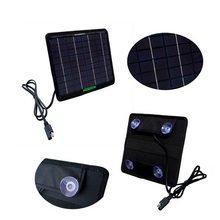 Высокое качество 5 Вт 18 В Портативный солнечных батарей для 12 В Батарея Зарядное устройство солнечный Батарея Зарядное устройство для автомобиля/лодки /Двигатель 2 шт./лот Бесплатная доставка