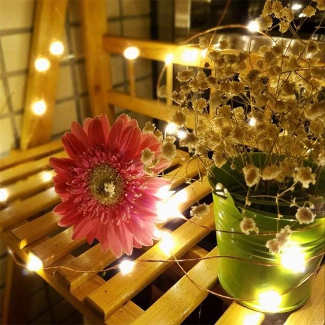 Firefly String Lights Impressive 60Set Lamp Waterproof Remote Control String LED White String Lights
