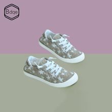 BDQE Womens shoes canvas wild European and American style vulcanized