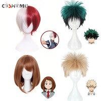Coshome Boku No Hero Academia Cosplay Wigs My Hero Academia Izuku Midoriya Ochako Green Yellow And