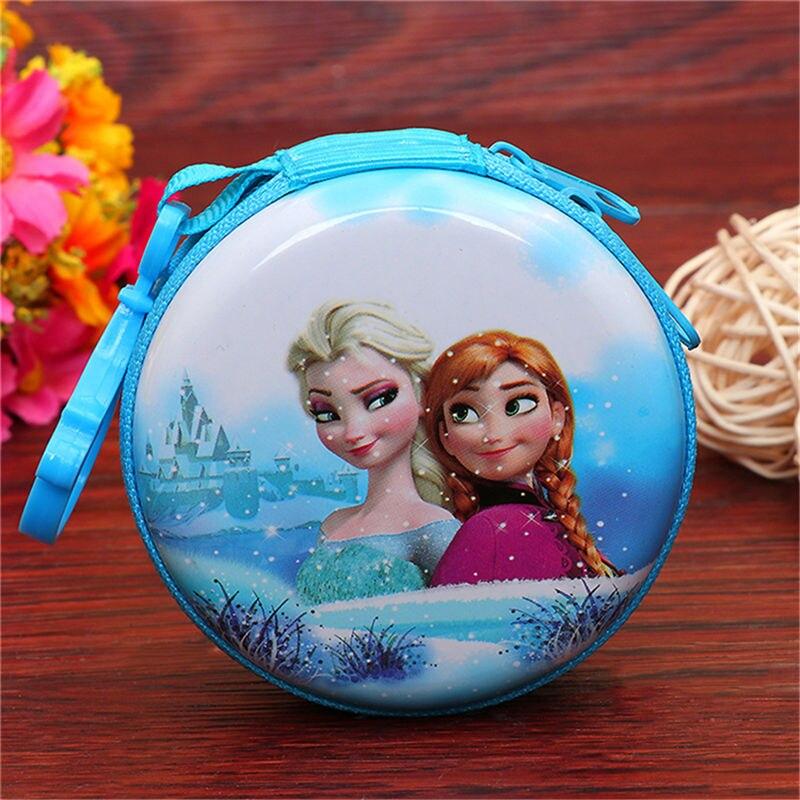 Лидер продаж, кошелек для монет с героями мультфильмов, Эльза, Анна, принцесса, чехол для ключей для девочек, кошелек, детский Снежная королева, гарнитура, сумка для монет - Цвет: J