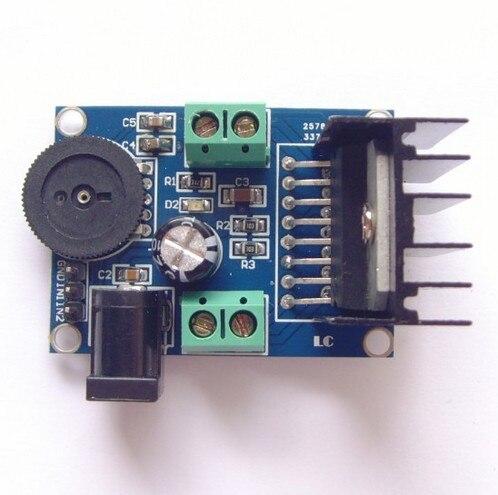 TDA7266 mini Audio amplifier board 3-18V 2 0 channel 7W+7W amplifier board  For 4-8 ohm 5w-15W speakers
