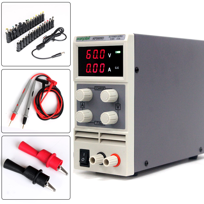 high efficiency switching DC power supply 60V 5A 0.1V 0.01A Single Channel adjustable Digital DC power supply. Free shipping rps6005c 2 dc power supply 4 digital display high precision dc voltage supply 60v 5a linear power supply maintenance