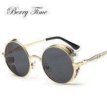 Berrytime Mulheres Sunglasse Retro Rodada Para As Mulheres Óculos De Sol  Das Mulheres 2017 Hip Hop Shades Para Mulheres Óculos Ó.. e527597b43