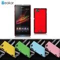 Grind песчаные Жесткий Пластиковый корпус 4.3for Sony Xperia L Case для Sony Xperia L S36h C2105 Сотовый Телефон Задняя Крышка Case