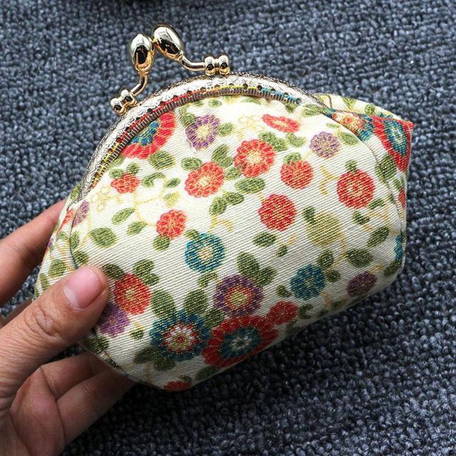 Xiniu Fresh Wallet hasp Women Lady Retro Vintage Flower Small Wallet Hasp  Purse Clutch Bag Handbag carteira feminina pequena  WM e21110559778