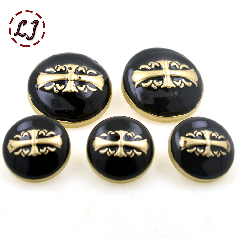 New arrive 18mm/25mm fashionsewing metal button 10pcs/lot decorative buttons British style for overcoat garment accessories DIY