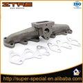 Fundido Colector De Escape Para 1993-1998 Toyota Supra MK4 2 2JZ-GTE 2JZGTE 2JZ T4 Flange de Ferro Fundido Colector Turbo para Lexus IS300