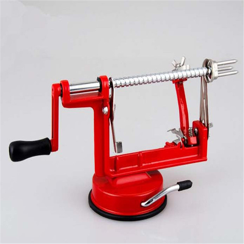 Stainless Steel Apple Peeler Slicing Machine Home Kitchen Tool Cutter Fruit Tools FreeShipping E239