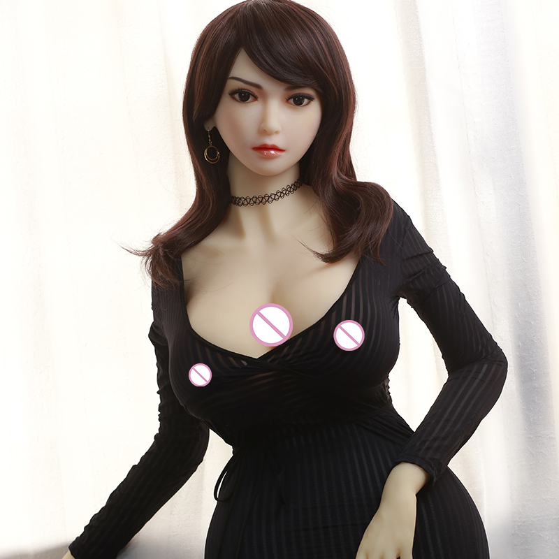 Cosdoll <font><b>158cm</b></font> <font><b>Japanese</b></font> Hot Full Size Top Quality Cheap Silicone Fat <font><b>Sex</b></font> <font><b>Doll</b></font> TPE image