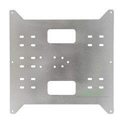 Y каретки Замена обновления алюминиевая пластина для выбора производителя, Wanhao Дубликатор i3 и Anycubic i3 Мега 3D принтеры