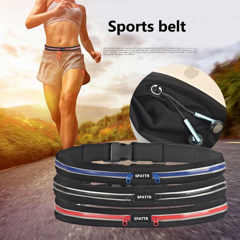 New Invisible waterproof Mobile phone waist bag Multi-function High-capacity fanny pack small belt bag women Waist pack men