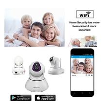 Камеры безопасности wi-fi ip cam H.264 Мегапиксельная HD с 2 Мега Pixel Фокус Объектива P2P onvif 128 ГБ SD карта МИКРОФОН динамик PTZ камер