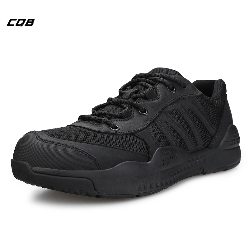 CQB Outdoor Sports Tactical Camping Shoes Men Urltra-Light Climbing Trekking Shoes for Hiking Wear-resistant Sneakers Non-slip