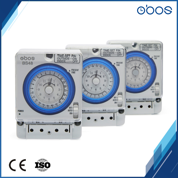 OBOS Power Outages Memory White Mechanical Timer Switch With Set Up 96 Times Per Day 220V High Quality Low Price Free Shipping