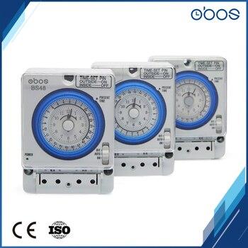 Obos interrupções de energia memória branco interruptor temporizador mecânico com conjunto 96 vezes por dia 220v alta qualidade baixo preço frete grátis