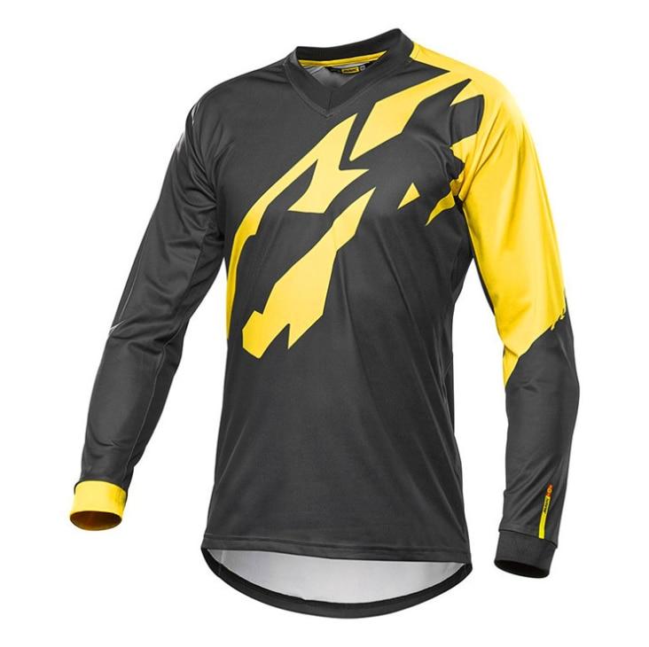 2018 Enduro Jerseys 2018 Seven Motocross Mx Bike Mtb Cycling T-shirt Men Summer Team Camiseta Dh Long Sleeve Downhill Clothes