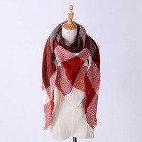 Aliexpress Vendita Calda di Stile Nuovo Triangolo Asciugamano Imitazione del Cachemire Scialle Sciarpa Calda di Modo delle Donne Una Varietà Di Sciarpa Del Tutto-Fiammifero