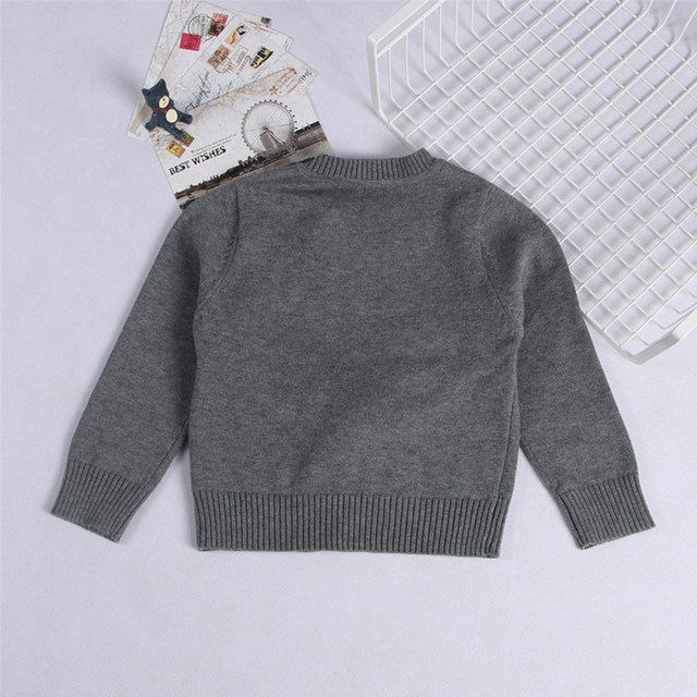 Online Shop Boys Jumpers Autumn Knit Kids Bear Pattern Clothes Kids ...