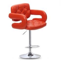 Оранжевый кофе стул ночной клуб барный стул Бесплатная доставка