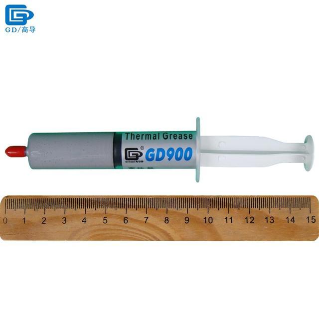 GD900 Termico Conduttivo Pasta Grasso Al Silicone Gesso Dissipatore di Calore Compound Ad Alte Prestazioni Grigio SSY1 SY1 SY3 SY7 SY15 SY30 6