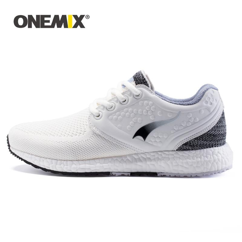 Shoes Women Sneakers Ultra-Light Footwear Running-Shoe Vulcanize Knitted ONEMIX Summer