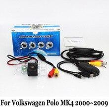 Для Volkswagen VW Polo MK4 2000 ~ 2009/Проводной Или Беспроводной Резервного Копирования камеры/HD Широкоугольный Объектив CCD Ночного Видения Заднего Вида камера