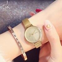 ShengKe Waterproof Rose Gold Watch Women Quartz Watches Ladies Top Brand Luxury Female Wrist Watch Girl
